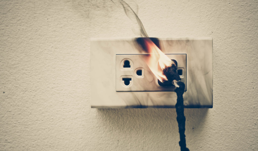 Sparking Outlets - Are They Dangerous? - Amcro Electric